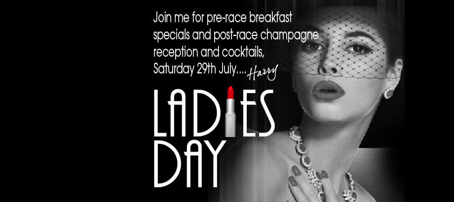 It's Ladies Day at Harry's Bar